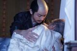 NHK大河ドラマ『真田丸』第31回より。三成は秀吉からの命令に驚愕する(C)NHK