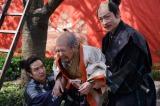 NHK大河ドラマ『真田丸』第30回より。醍醐寺で花見の席が設けられるが・・・(C)NHK