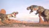 CGで再現したティラノサウルス(C)NHK