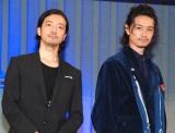 『第9回したまちコメディ映画祭』トークイベントに出席した(左から)金子ノブアキ、斎藤工 (C)ORICON NewS inc.