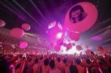 あーりんカラーのピンク一色に染まった横浜アリーナ photo by HAJIME KAMIIISAKA