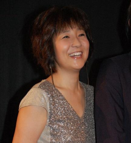 映画『ハイヒール革命!』初日舞台あいさつに出席した藤田朋子 (C)ORICON NewS inc.