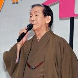 映画『オケ老人!』完成披露試写会に登壇した小松政夫
