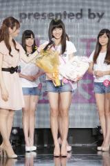『2017ミス・ティーン・ジャパン』、サマンサタバサ賞を受賞した大阪府出身の時吉真子さん(14)
