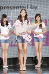 『2017ミス・ティーン・ジャパン』準グランプリを受賞した岐阜県出身の小森澪菜さん(15)