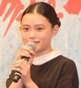 映画「湯を沸かすほどの熱い恋」完成披露試写会舞台あいさつに登壇した杉咲花 (C)ORICON NewS inc.