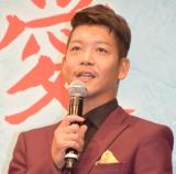 映画「湯を沸かすほどの熱い恋」完成披露試写会舞台あいさつに登壇した駿河太郎 (C)ORICON NewS inc.