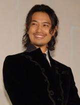 斎藤工=映画『HiGH&LOW THE RED RAIN』完成舞台あいさつ (C)ORICON NewS inc.