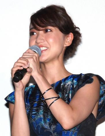 映画『真田十勇士』初日舞台あいさつに出席した大島優子 (C)ORICON NewS inc.