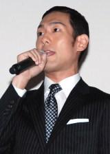映画『真田十勇士』初日舞台あいさつに出席した中村勘九郎 (C)ORICON NewS inc.