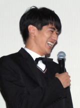 映画『真田十勇士』初日舞台あいさつに出席した永山絢斗 (C)ORICON NewS inc.
