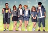adidas NEO Label『ペアルックTシャツ』発表イベントの模様(C)ORICON NewS inc.