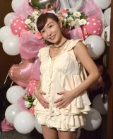 ライブで妊娠報告をした加護亜依 (C)ORICON NewS inc.