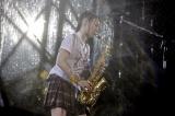 虎党・水樹奈々が夢の甲子園ライブで「六甲おろし」をサックス演奏 Photo by hajime kamiiisaka