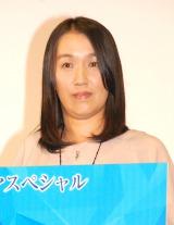 ドラマ『望郷』製作発表記者会見に出席した湊かなえ氏 (C)ORICON NewS inc.