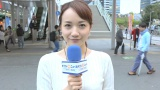 直球リポーター・松原江里佳が中野駅前で直撃インタビュー (C)ORICON NewS inc.
