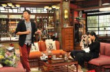 10月7日に放送される関西テレビ・フジテレビ系『金曜プレミアム さんまのまんま 秋の夜長に旬なあの人たちが勢揃いSP』(後9:00)に出演する(左から)杉咲花、相楽樹 (C)関西テレビ
