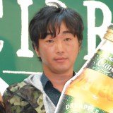 『キリン ハードシードル』発売記念パーティ開会式に出席したスピードワゴン・小沢一敬 (C)ORICON NewS inc.