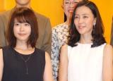 NHK連続テレビ小説『ひよっこ』に出演が決まった(左から)有村架純、木村佳乃