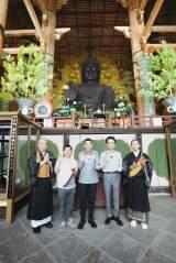 仏教のルーツを巡る旅を展開する(C)テレビ朝日