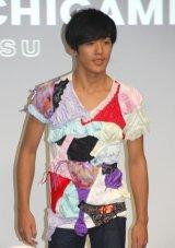 パンツを再利用したファッション=渋谷ヒカリエで行われたファッションショー (C)ORICON NewS inc.
