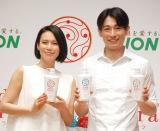 ディーン・フジオカ(右)の欠点について語った中谷美紀 (C)ORICON NewS inc.