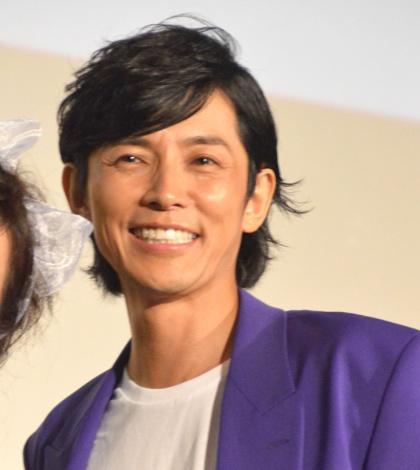 ドラマ『THE LAST COP/ラストコップ』第一話完成披露イベントに出席した藤木直人 (C)ORICON NewS inc.