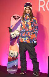 『「ROXY×M/mika ninagawa」コラボレーションスノーウェア』の発売記念イベントに出席したマギー (C)ORICON NewS inc.