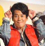 ドラマ『THE LAST COP/ラストコップ』第一話完成披露イベントに出席した唐沢寿明 (C)ORICON NewS inc.