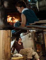 映画『湯を沸かすほどの熱い愛』に出演する(下段から)オダギリジョー、松坂桃李 (C)2016「湯を沸かすほどの熱い愛」製作委員会