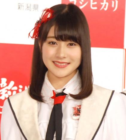 『新潟米 2016新米収穫』記者発表会に出席したNGT48・加藤美南 (C)ORICON NewS inc.