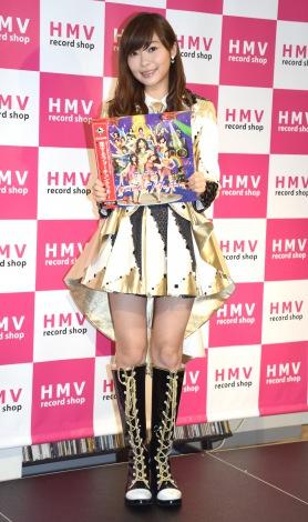 『HMV record shop 新宿ALTA』のオープン記念内覧会に出席したHKT48・指原莉乃 (C)ORICON NewS inc.