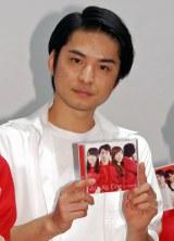 AbemaTV『西浦秀樹のめざせ紅白!』CDリリース記念公開生放送を行った西浦秀樹 (C)ORICON NewS inc.