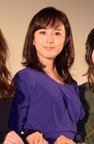 映画『カノン』公開記念舞台あいさつで自身のルーツを明かした比嘉愛未 (C)ORICON NewS inc.