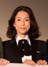 映画『カノン』公開記念舞台あいさつに登壇した鈴木保奈美 (C)ORICON NewS inc.