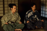 NHK大河ドラマ『真田丸』第2回より。昌幸に、真田の行く先について問われる信幸、信繁(C)NHK