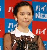 『バイトルNEXT』の新CM発表会に出席したAKB48島崎遥香 (C)ORICON NewS inc.