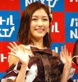 『バイトルNEXT』の新CM発表会に出席したAKB48渡辺麻友 (C)ORICON NewS inc.