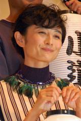 『続・深夜食堂』完成披露イベントに出席した小島聖(C)ORICON NewS inc.