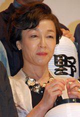 『続・深夜食堂』完成披露イベントに出席したキムラ緑子 (C)ORICON NewS inc.
