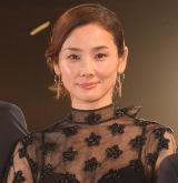 映画『ボクの妻と結婚してください。』完成披露試写会に出席した吉田羊 (C)ORICON NewS inc.
