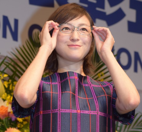 『第29回 日本 メガネ ベストドレッサー賞』表彰式に出席した広末涼子 (C)ORICON NewS inc.