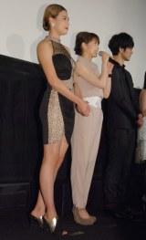 映画『彼岸島 デラックス』完成披露上映会舞台あいさつに出席した高野人母美 (C)ORICON NewS inc.