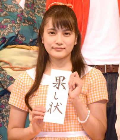 先輩女優に果たし状を突きつけたAKB48・入山杏奈=舞台『歌姫』合同取材 (C)ORICON NewS inc.