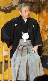 『芸道五十五周年「感謝の宴」』を開催した北島三郎 (C)ORICON NewS inc.