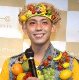 『めっちゃぜいたくフルーツ青汁』PRイベントに登場したりゅうちぇる (C)ORICON NewS inc.