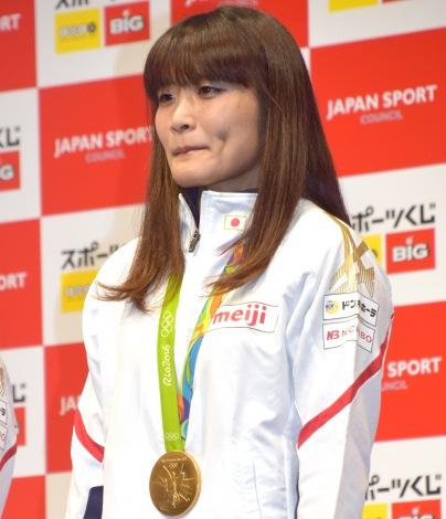 『スポーツくじ toto・BIG』の感謝イベントに出席した伊調馨選手 (C)ORICON NewS inc.