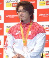 『スポーツくじ toto・BIG』の感謝イベントに出席した池崎大輔選手 (C)ORICON NewS inc.