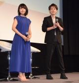 (左から)有村架純、佐藤健 (C)ORICON NewS inc.