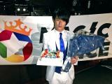 20歳の誕生日を迎えたMAG!C☆PRINCEの永田薫